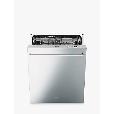 smeg integrated dishwasher instructions