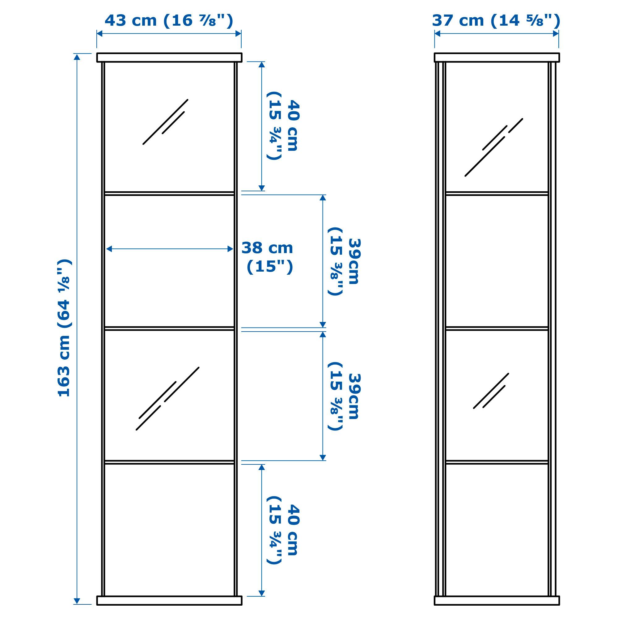 ikea detolf glass cabinet assembly instructions