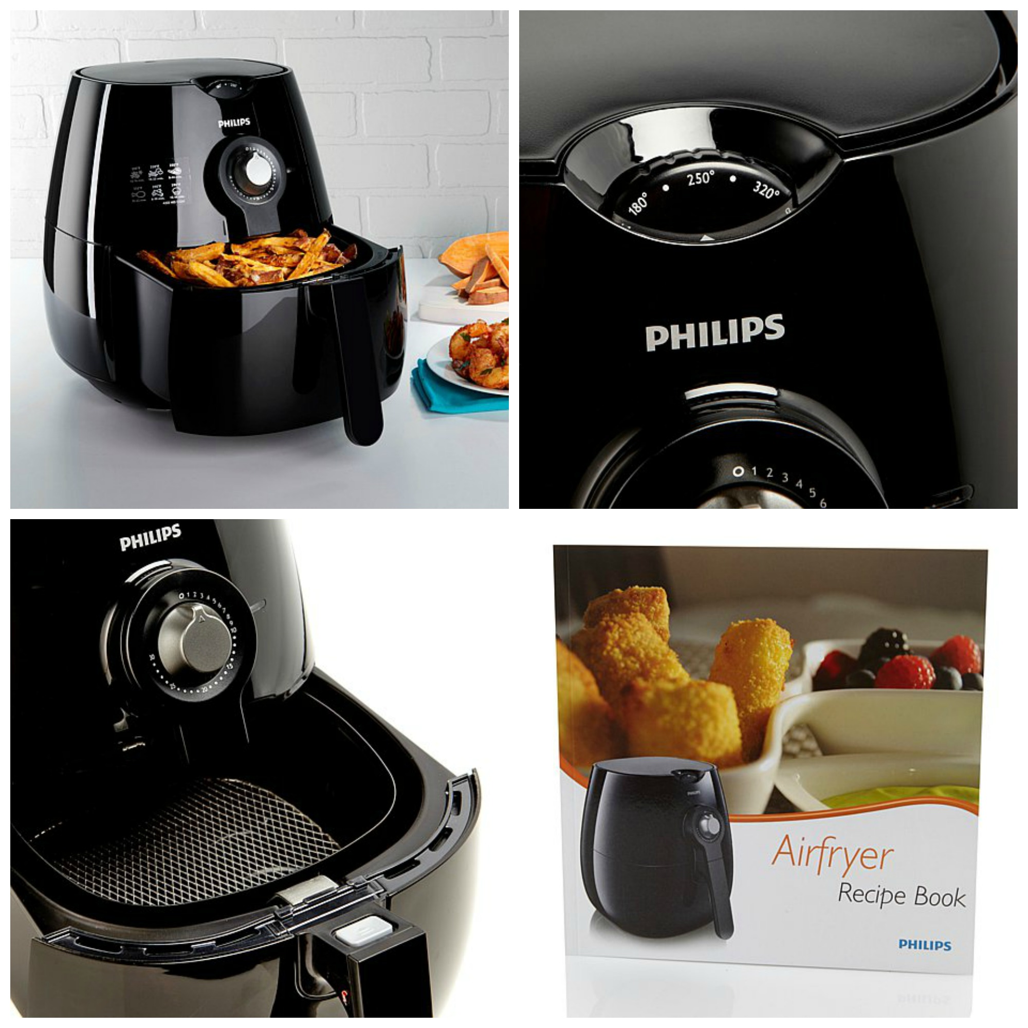 philips air fryer instructions