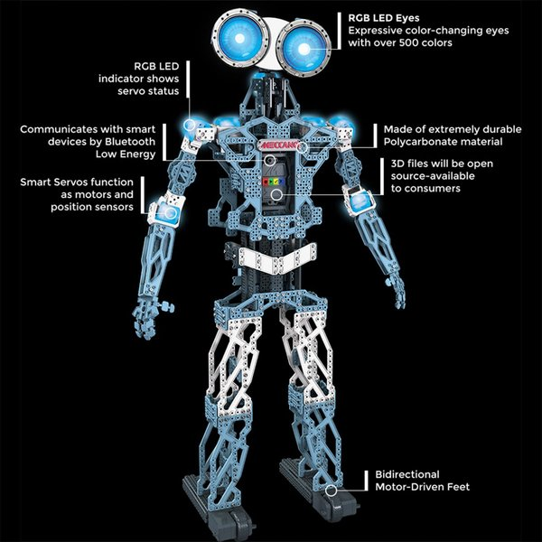 meccanoid 2.0 instructions