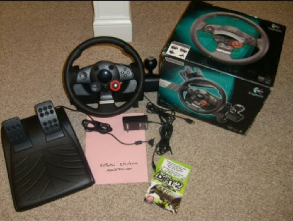 logitech steering wheel ps3 instructions
