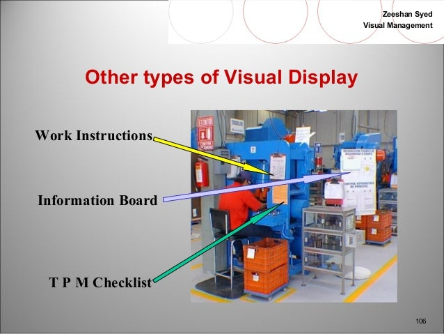 visual work instructions examples