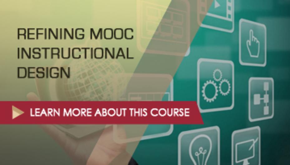 instructional design mooc course