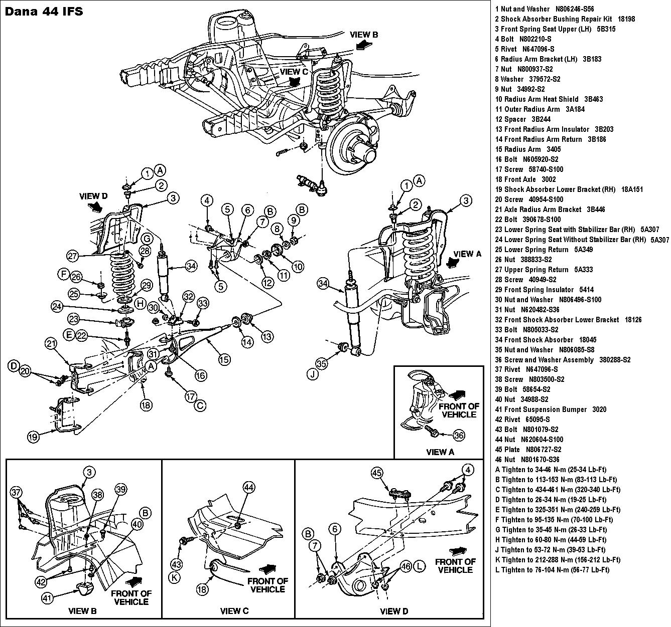 dana 30 rebuild instructions