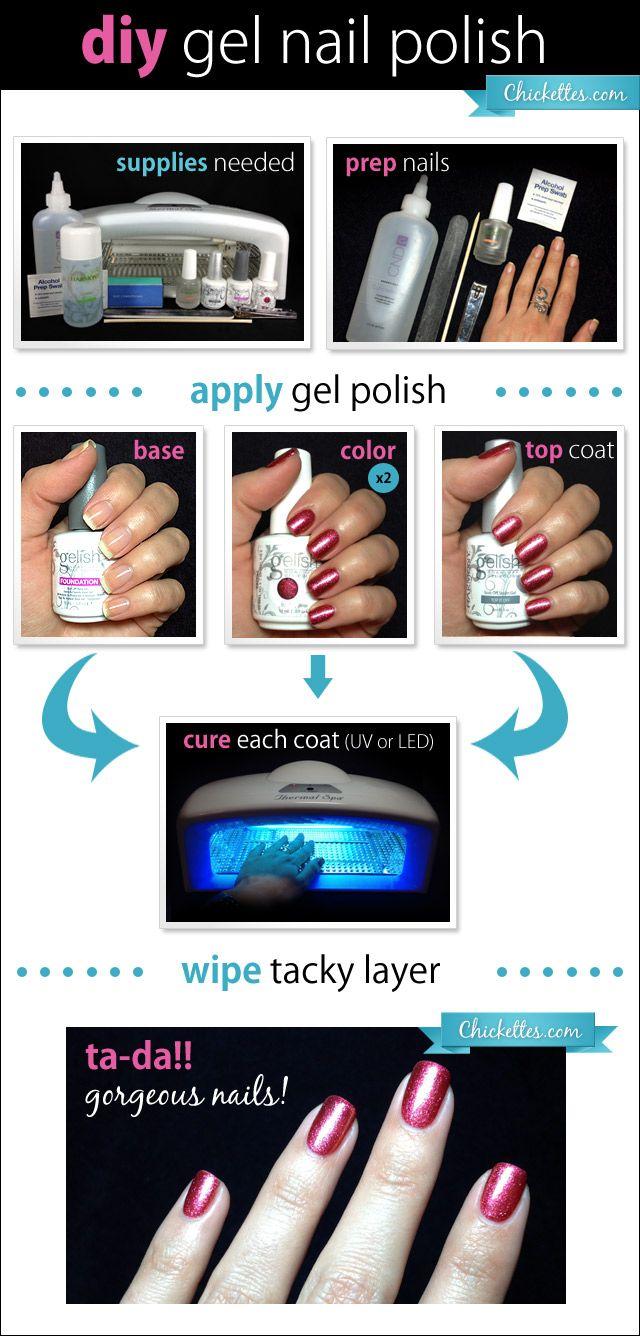 gelish nail kit instructions