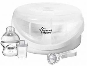 tommee tippee essentials microwave steriliser instructions