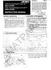 juki mh 380 instruction manual