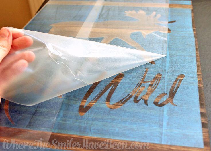 cricut stencil vinyl instructions