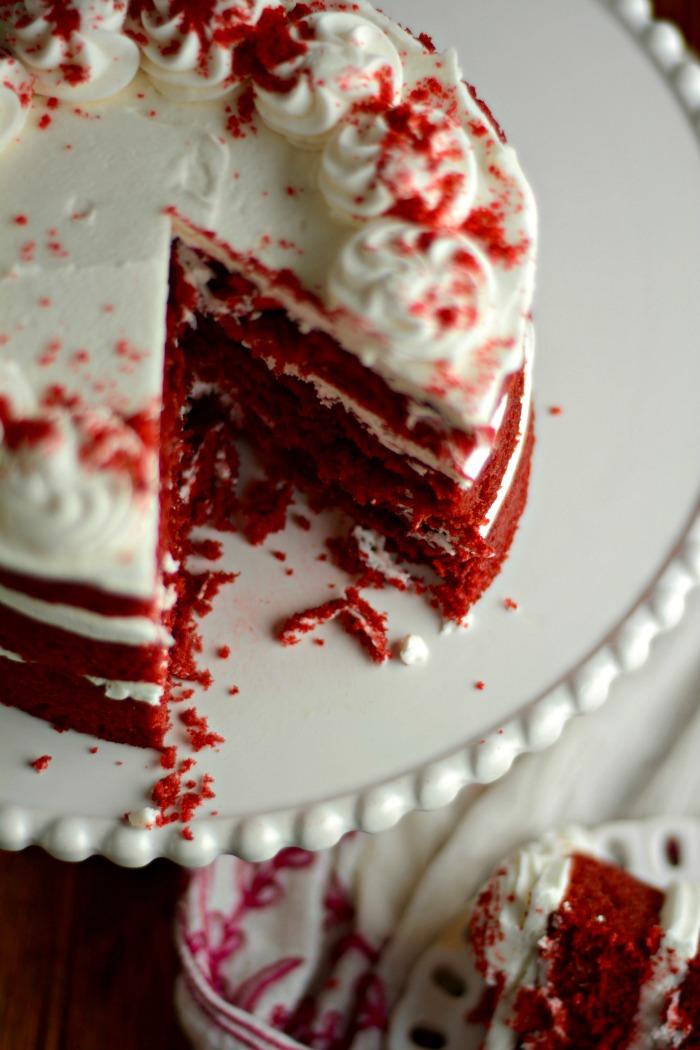 bakels red velvet cake mix instructions
