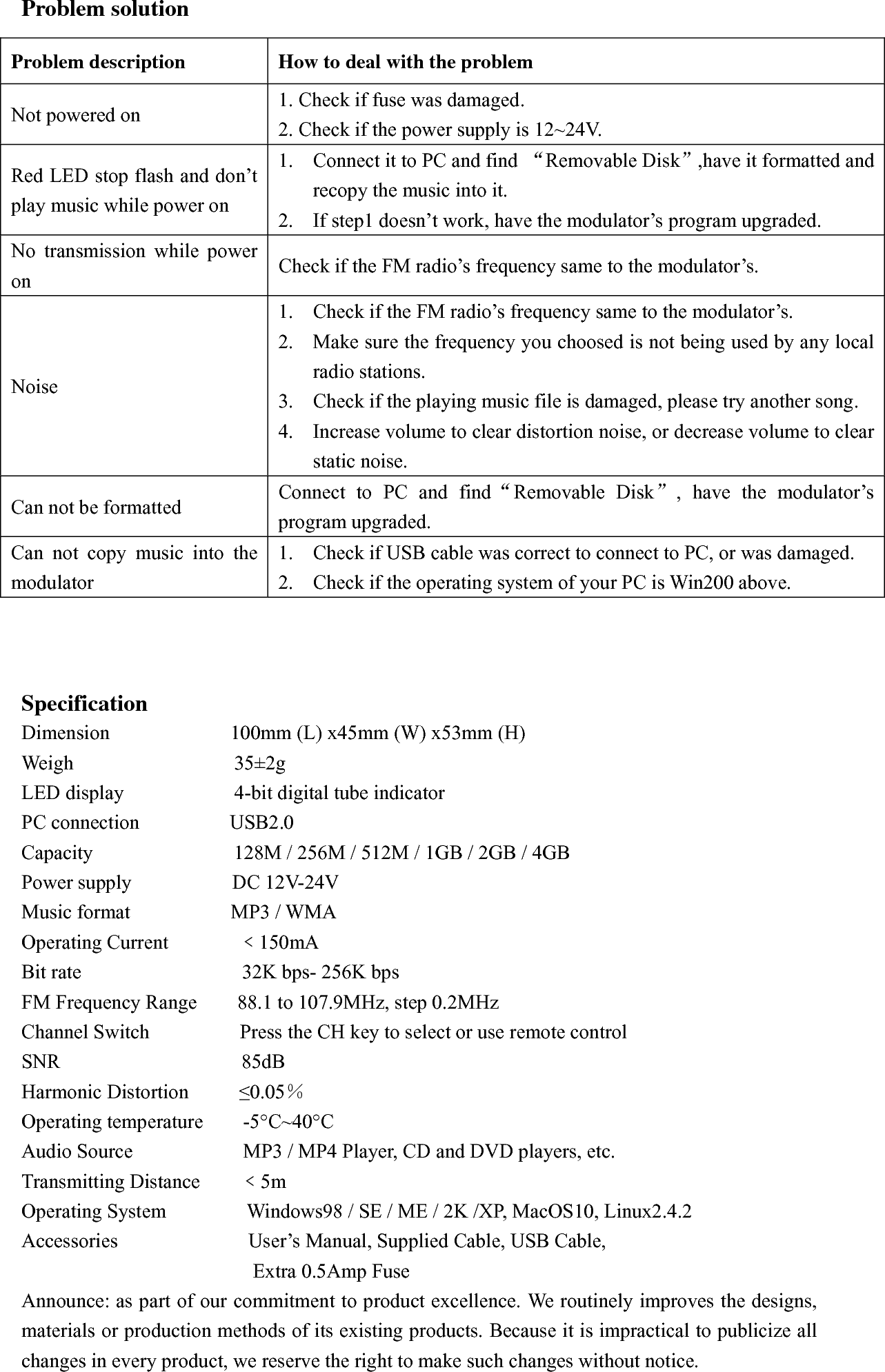 car mp3 player instructions