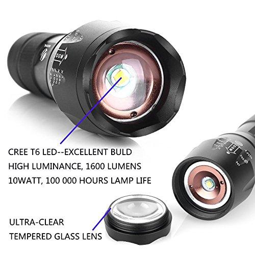 xml t6 flashlight instructions