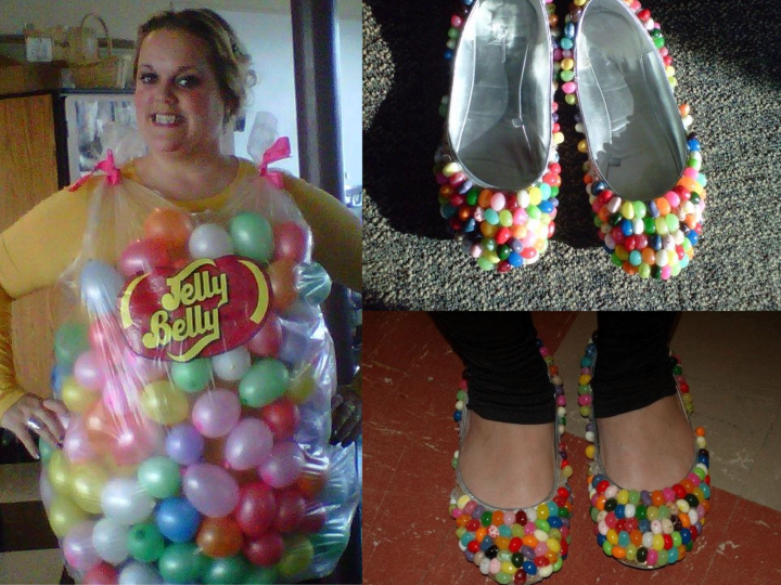 jelly belly costume instructions