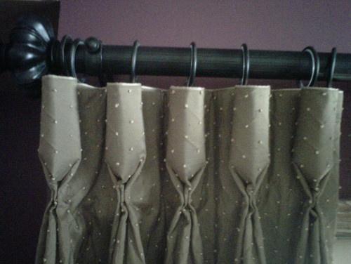 goblet pleat drapes instructions