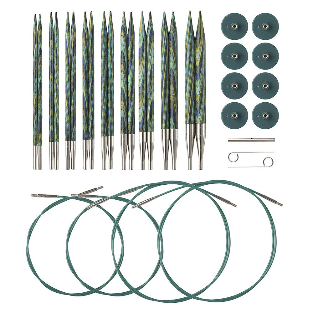 knit picks interchangeable needles instructions