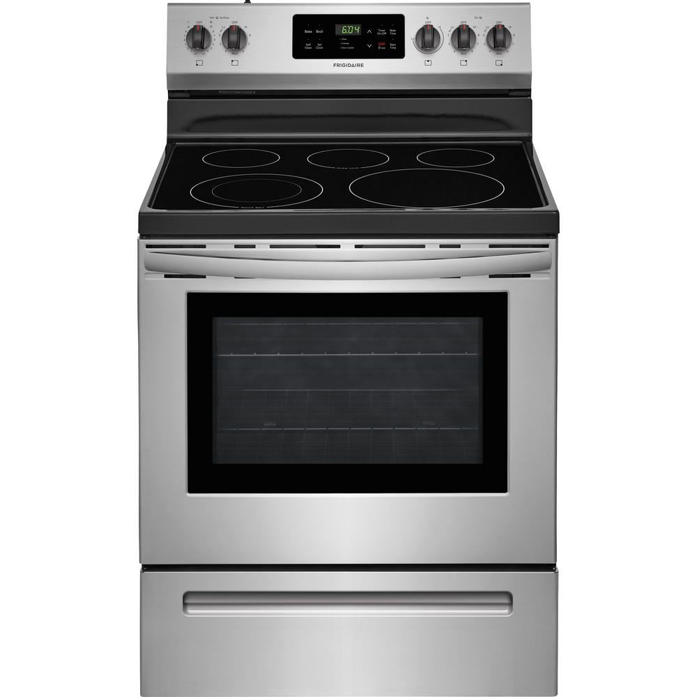 frigidaire gallery self cleaning oven instructions