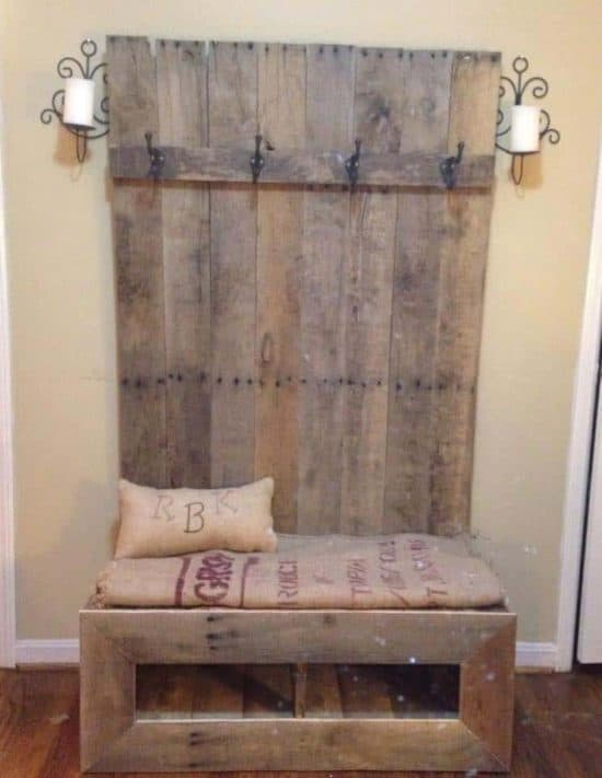 diy pallet bench instructions