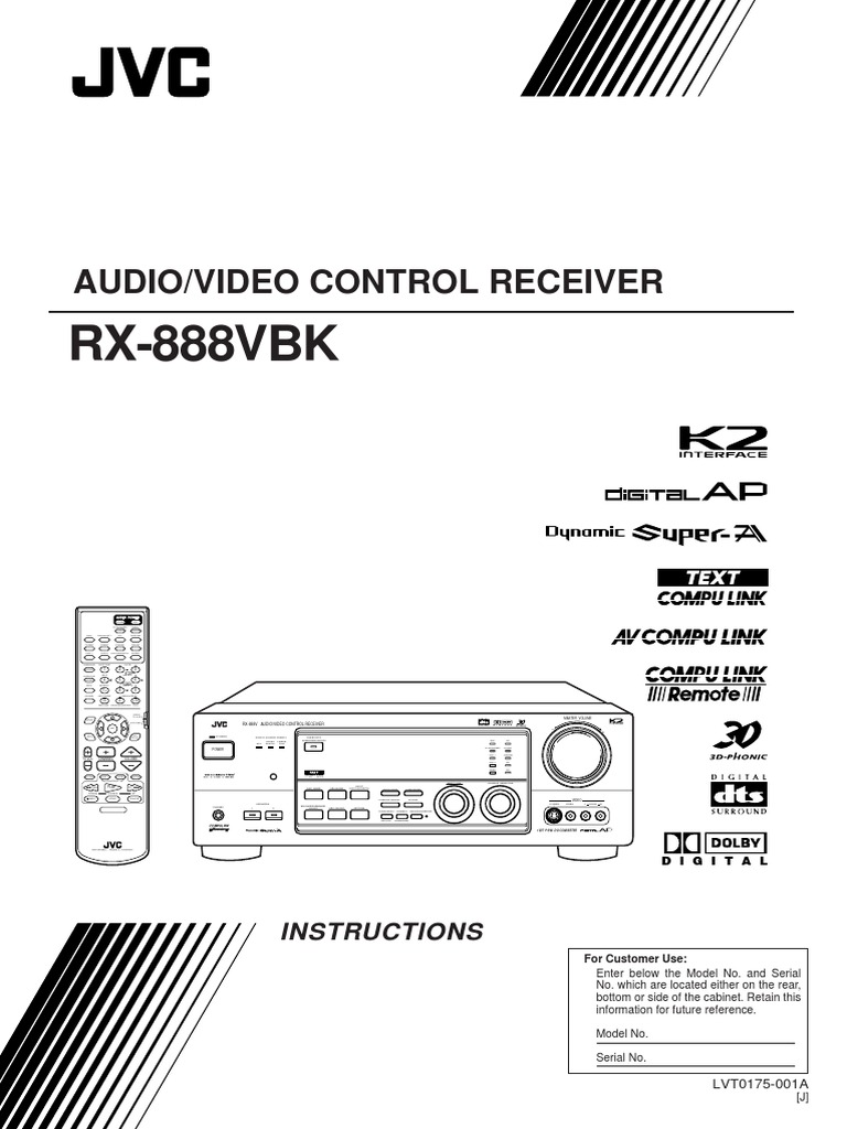 jvc tv instruction manual