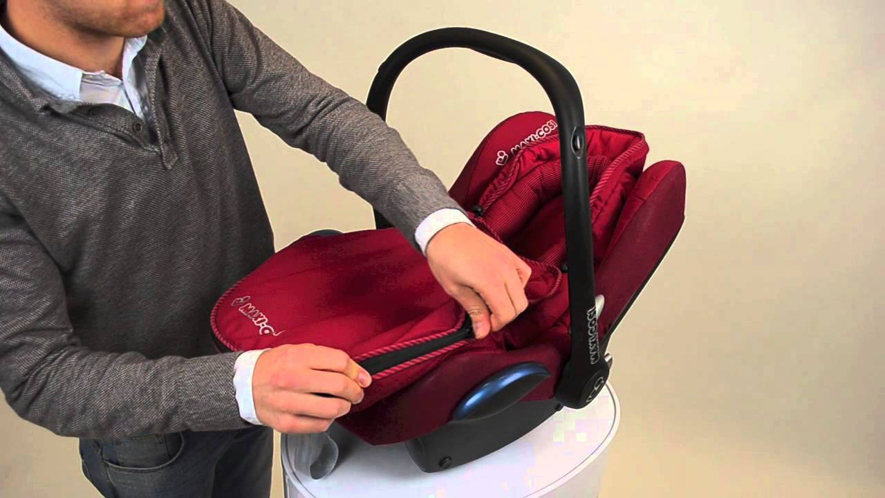 maxi cosi car seat installation instructions