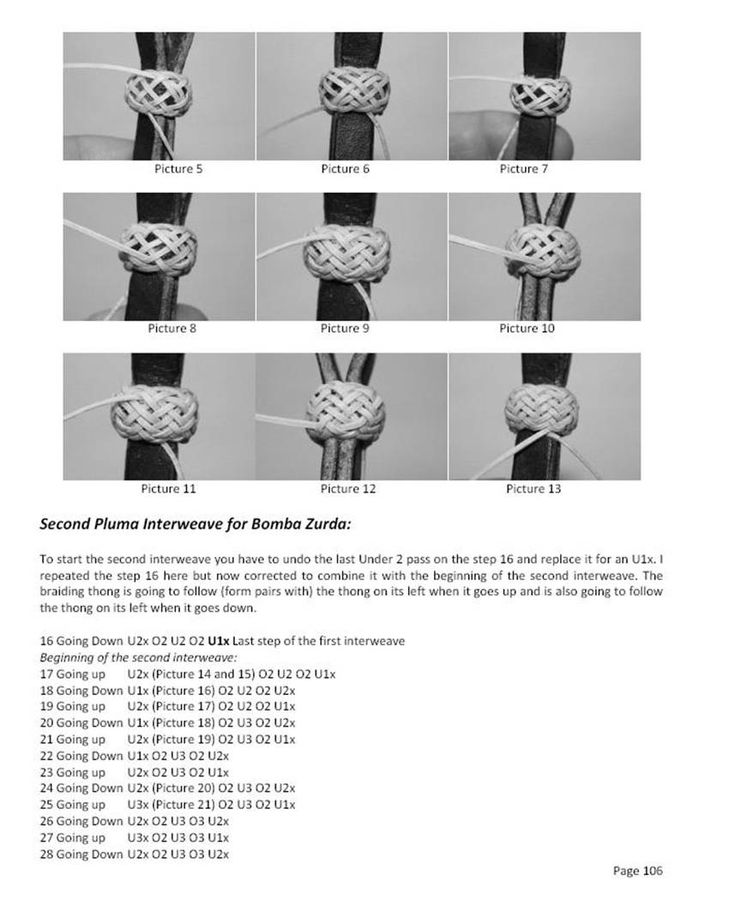 round braiding leather instructions