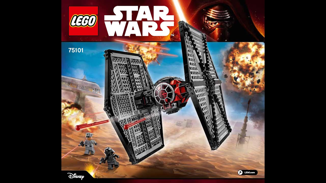 lego tie fighter instructions 7263