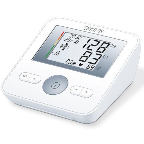 sanitas blood pressure monitor lidl instructions