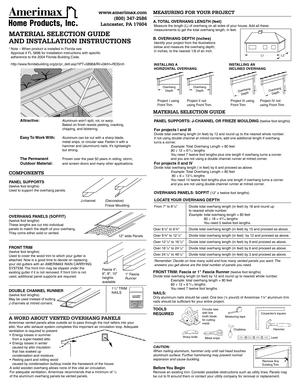 amerimax gutter guard installation instructions