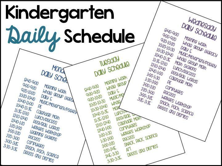 differentiated instruction in kindergarten example