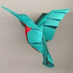 advanced origami hummingbird instructions