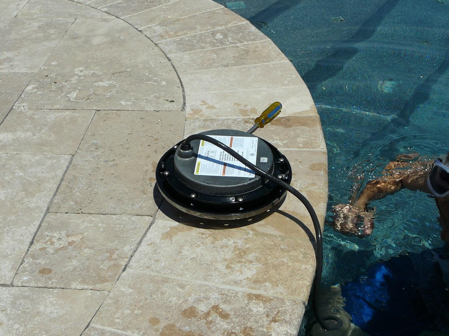 pool light installation instructions