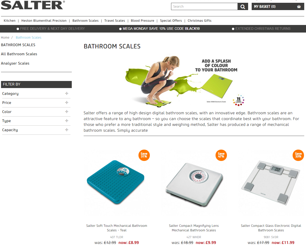 salter bathroom scales instructions