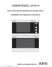 aeg oven timer instructions