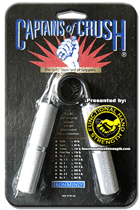 captains of crush grippers instruction booklet