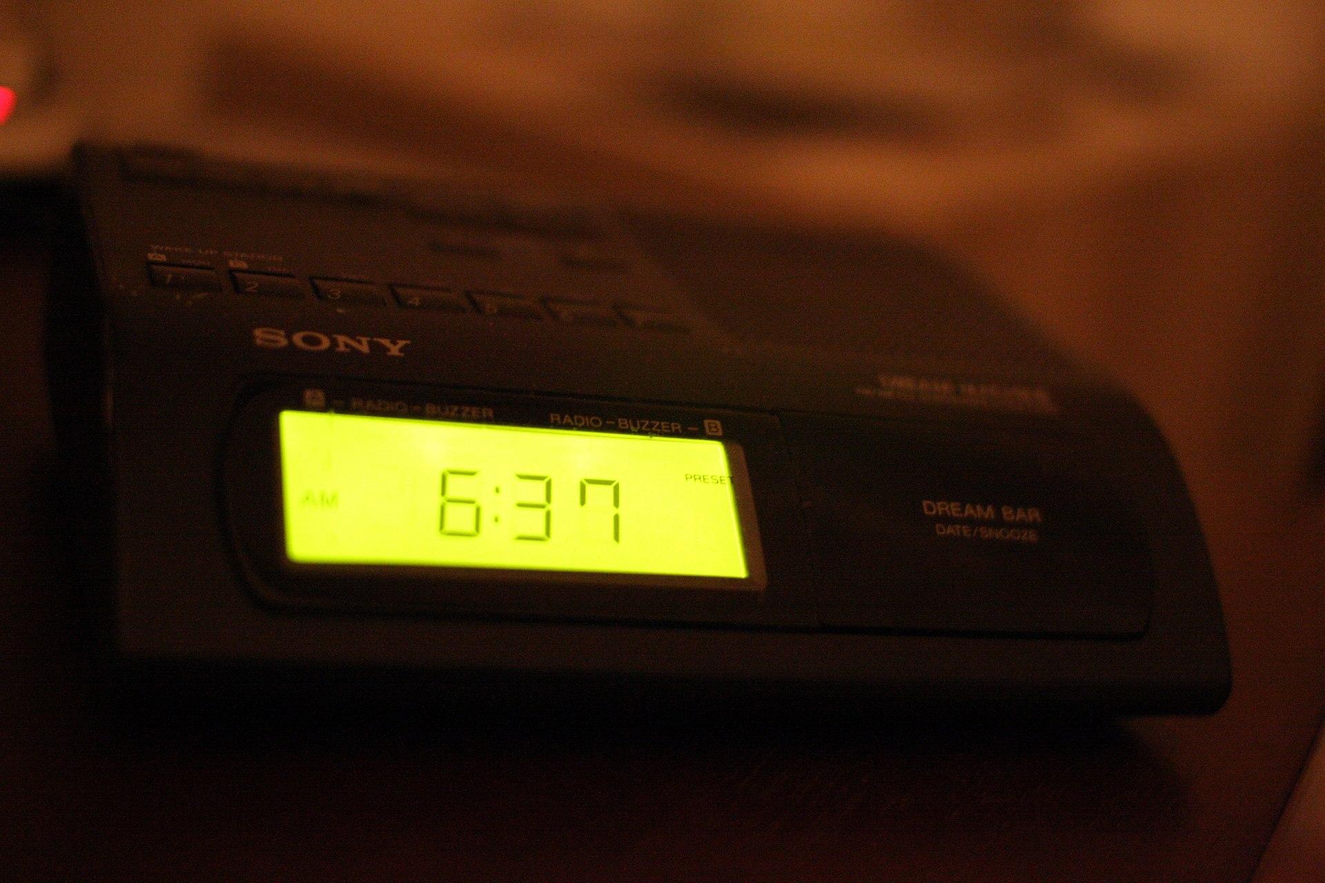 sony dream machine clock radio instructions