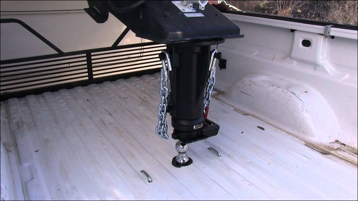 b&w gooseneck hitch installation instructions