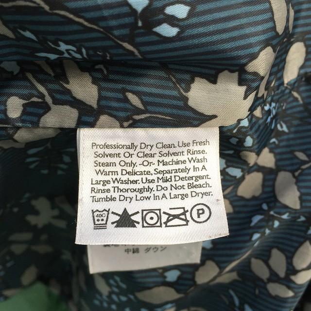 lululemon down jacket washing instructions