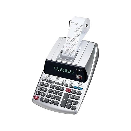 canon mp11dx calculator instructions