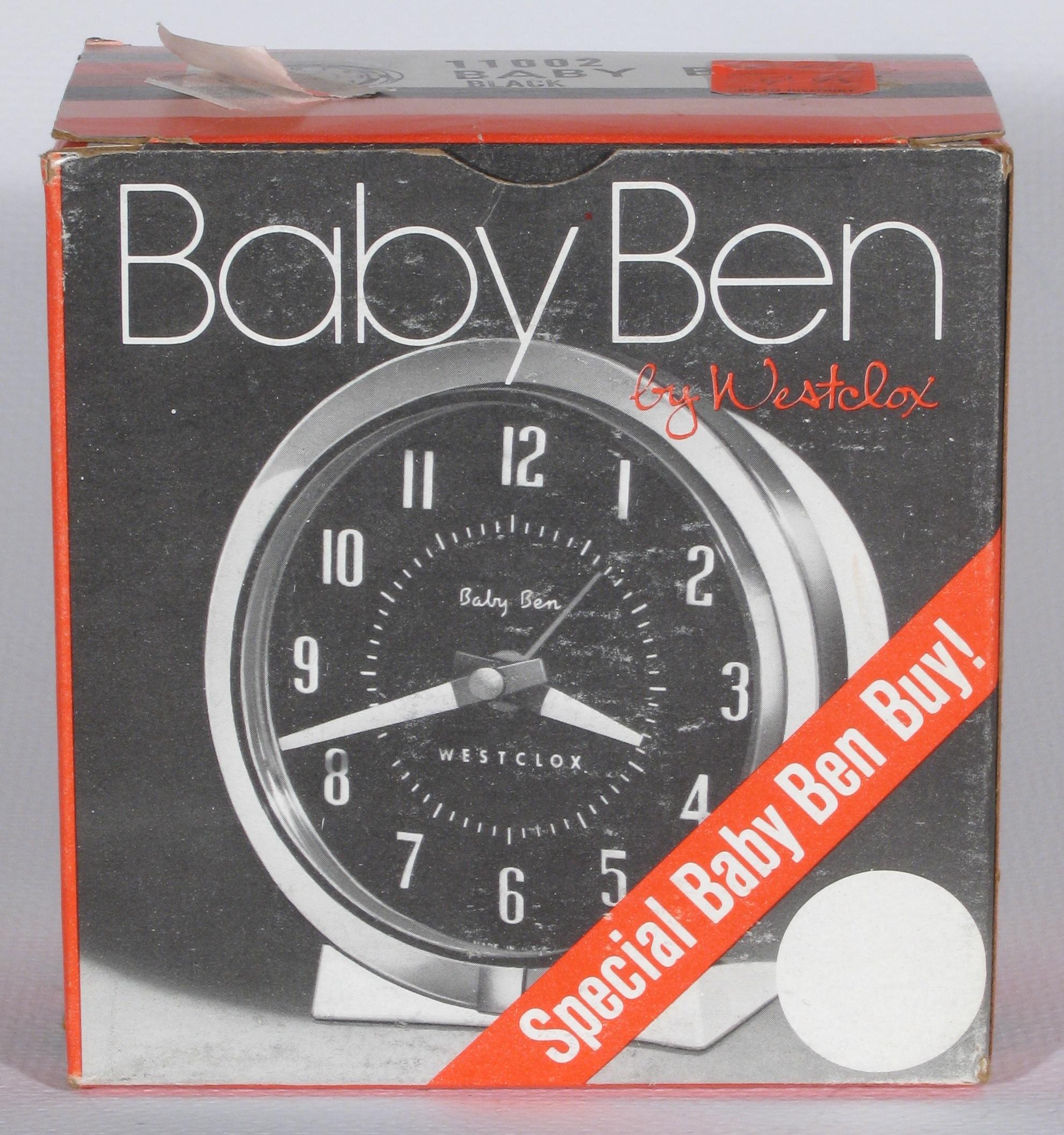 baby ben westclox instructions