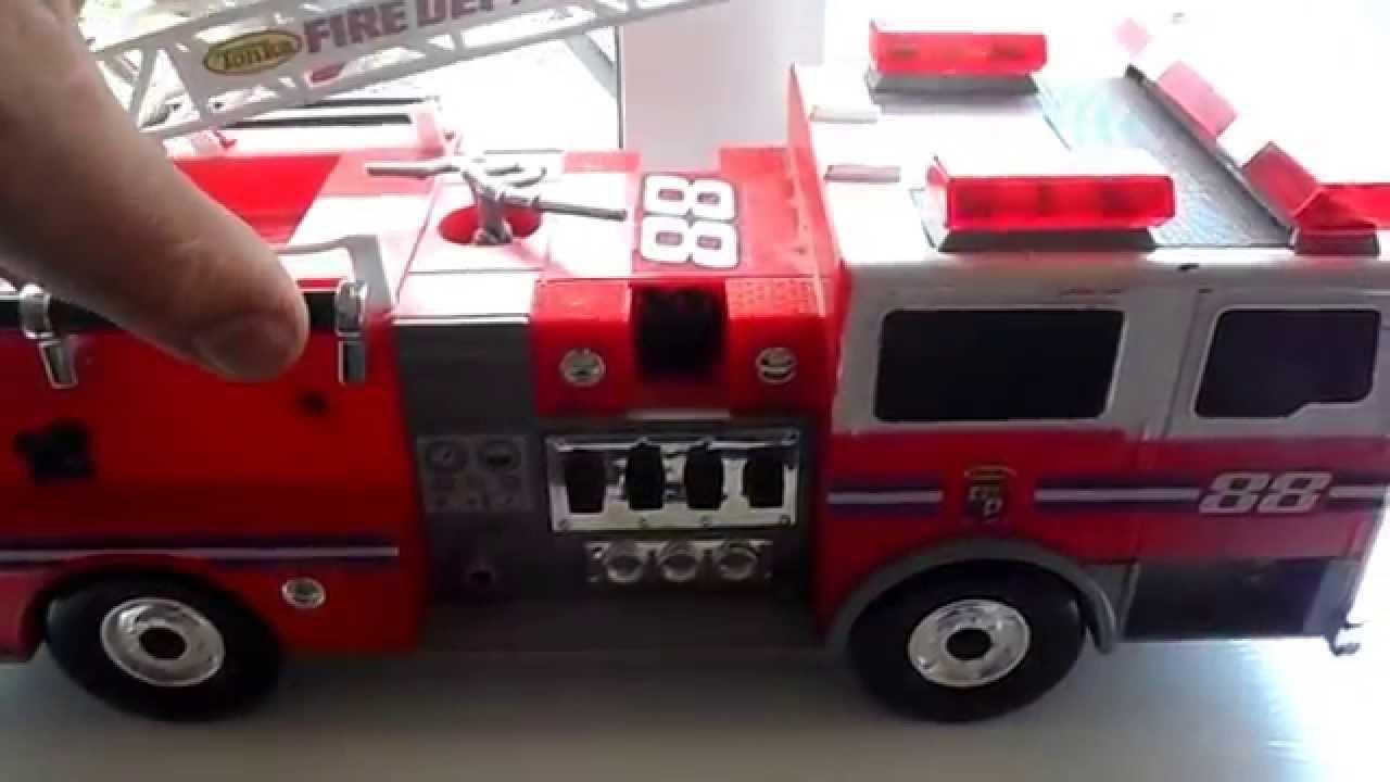 tonka fire rescue truck instructions
