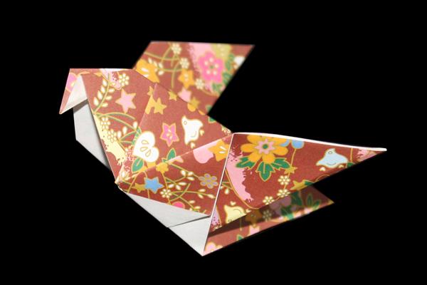 easy origami dove instructions