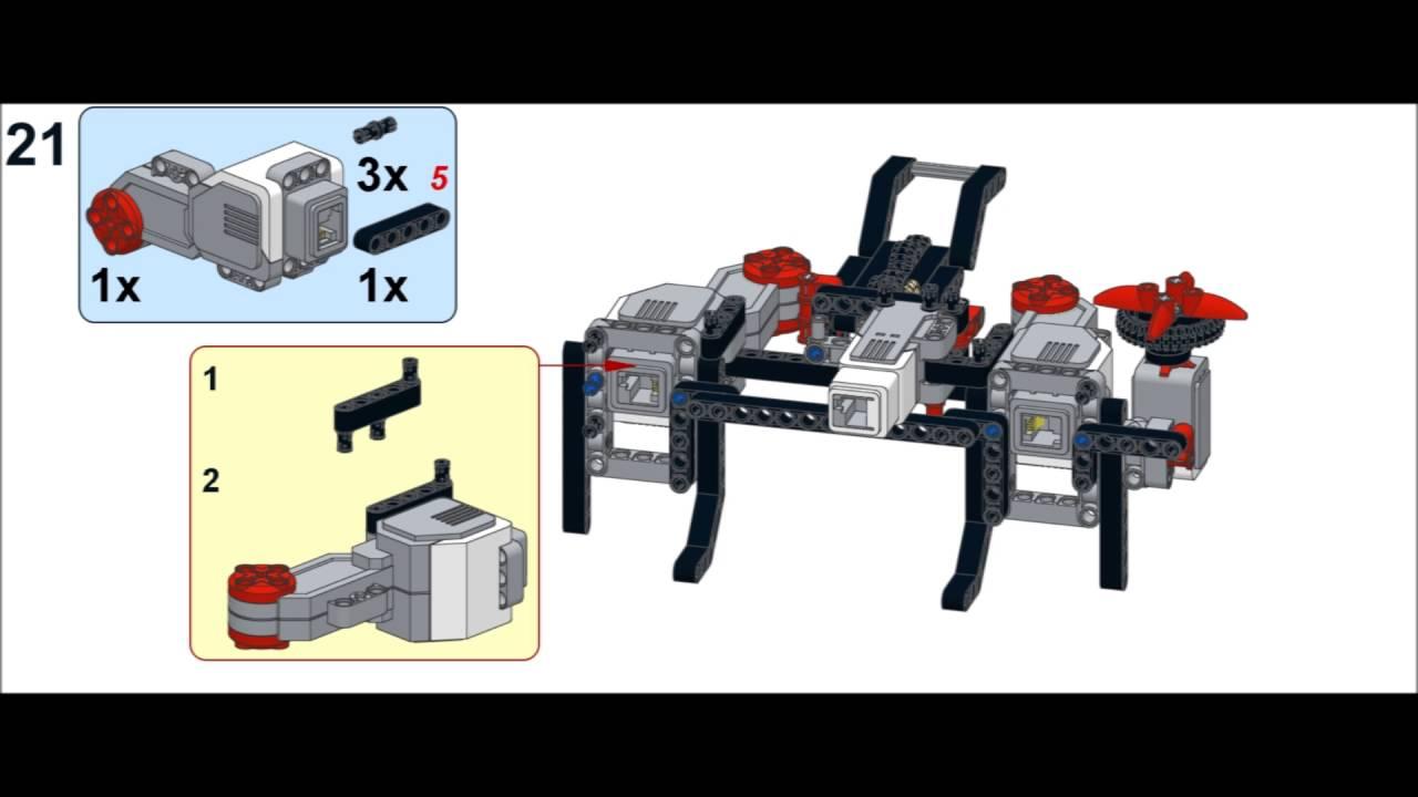 ev3 spider building instructions
