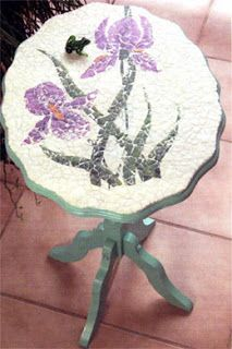 eggshell mosaic art instructions