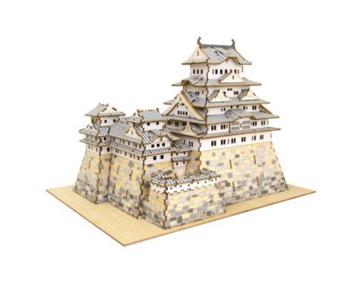 himeji castle nanoblock instructions