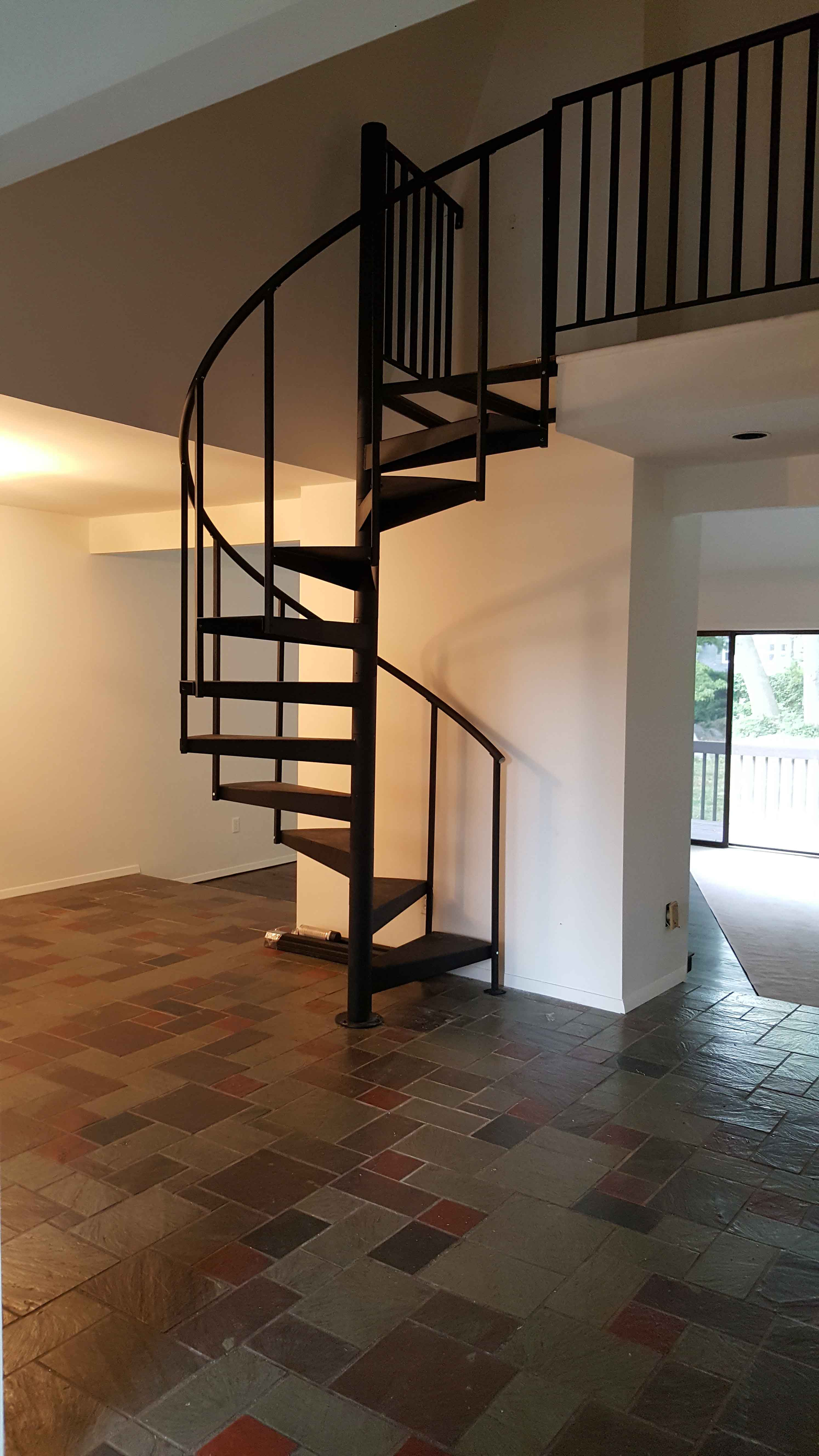 how to fit a staircase instructions