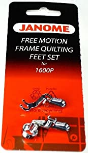 janome free motion foot instructions