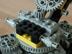 lego knitting machine instructions