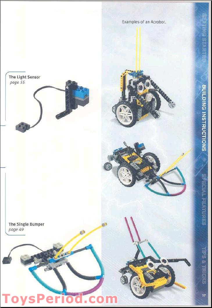 lego mindstorms nxt 2.0 building instructions