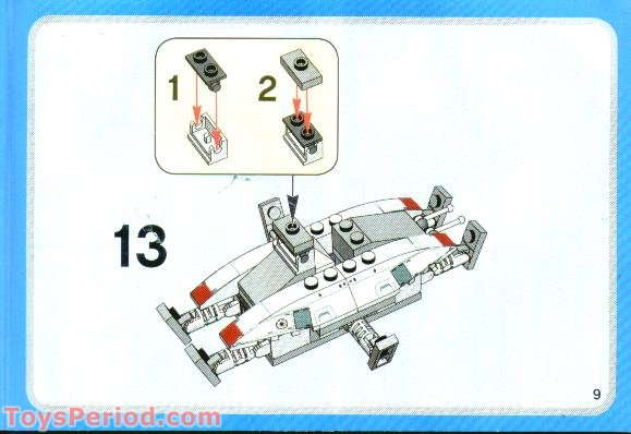 lego star wars at te instructions