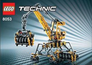 lego technic mobile crane 8053 instructions