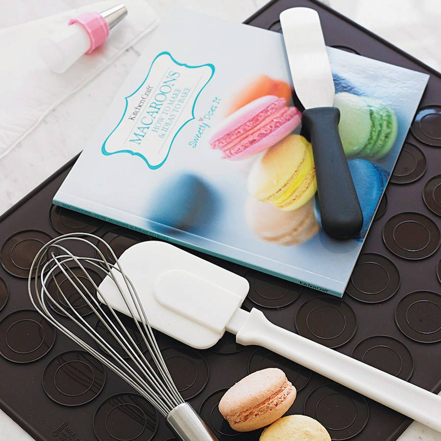 lekue macaron kit instructions