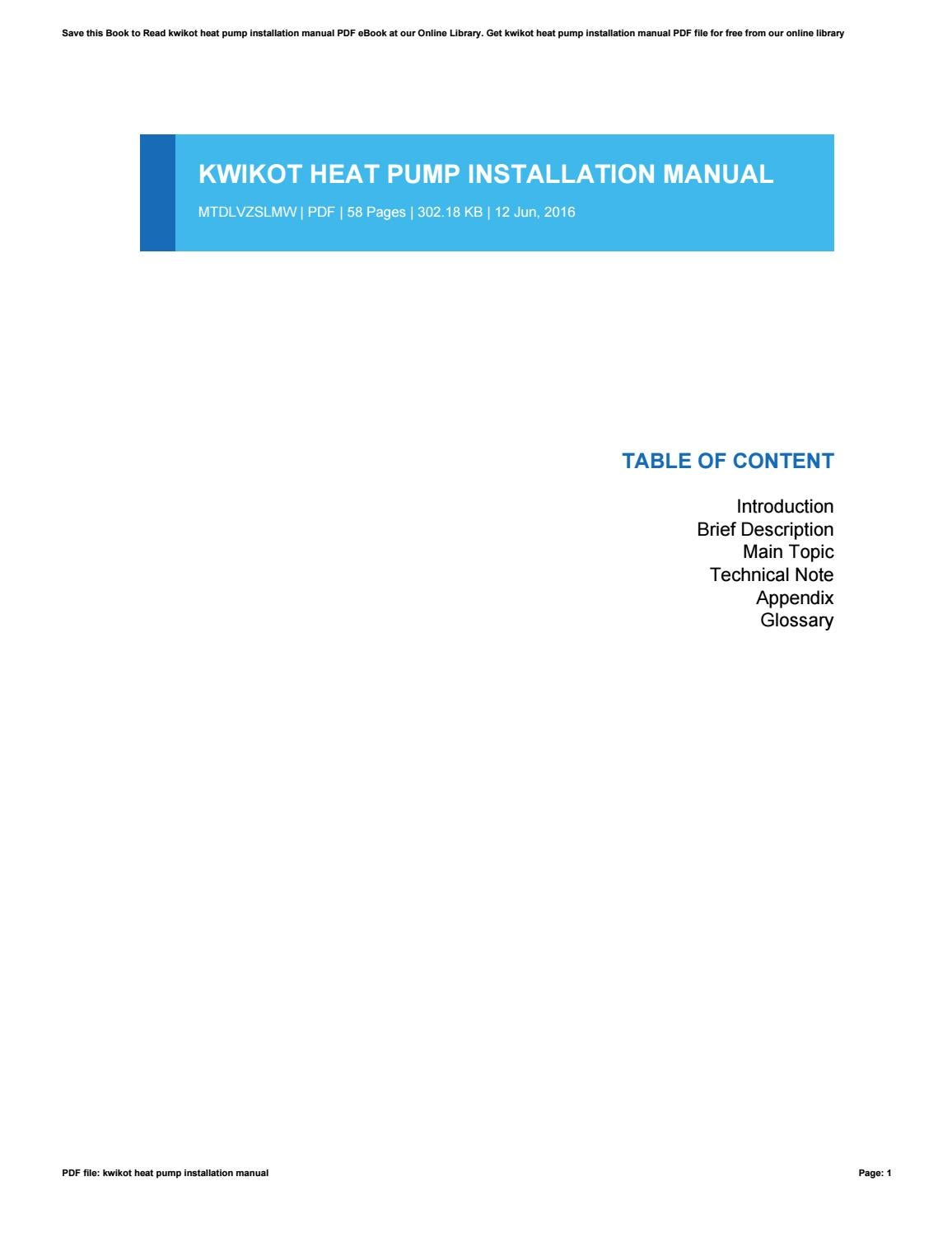 livewell pump installation instructions